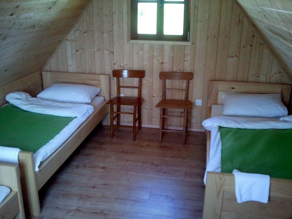 Notranjost bungalova