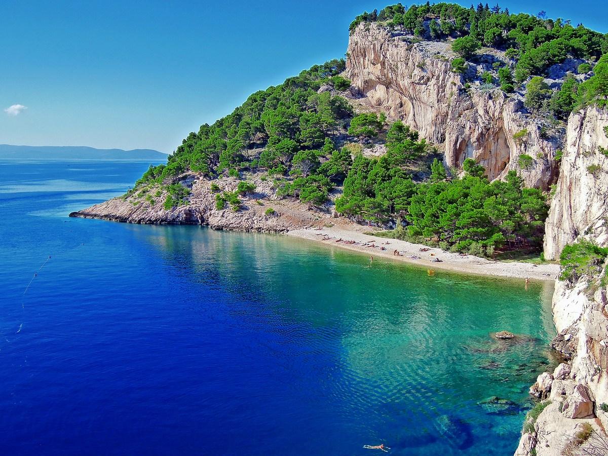 Plaža Nugal, lepotica Makarske riviere