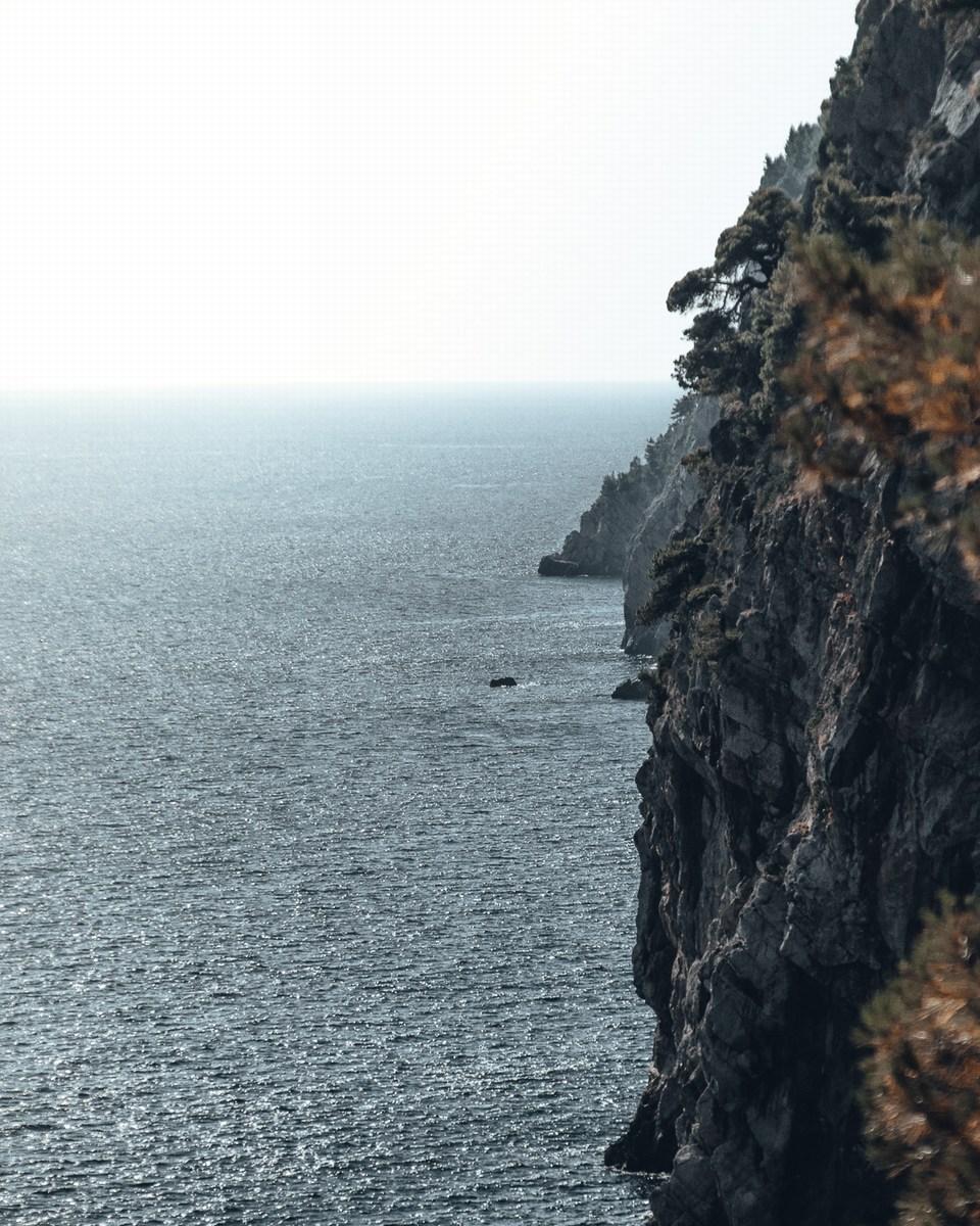 Skala v morju