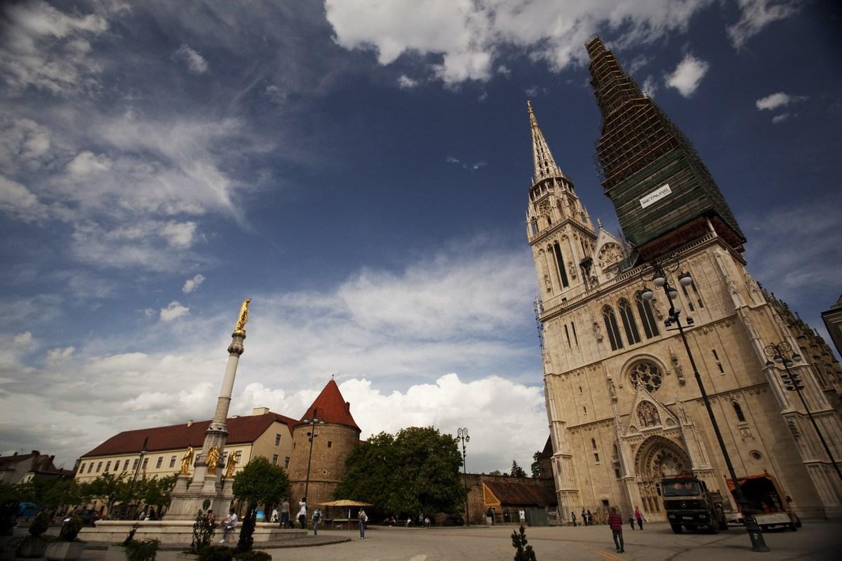 Zagrebška katedrala, največja hrvaška cerkev