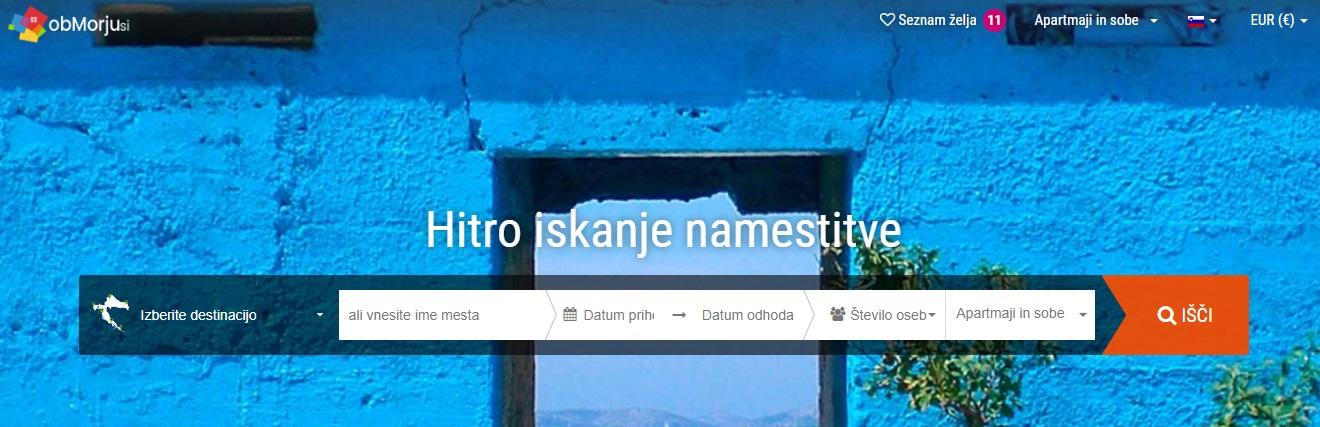 Obmorju.si, odličen spletni katalog poceni nočitev