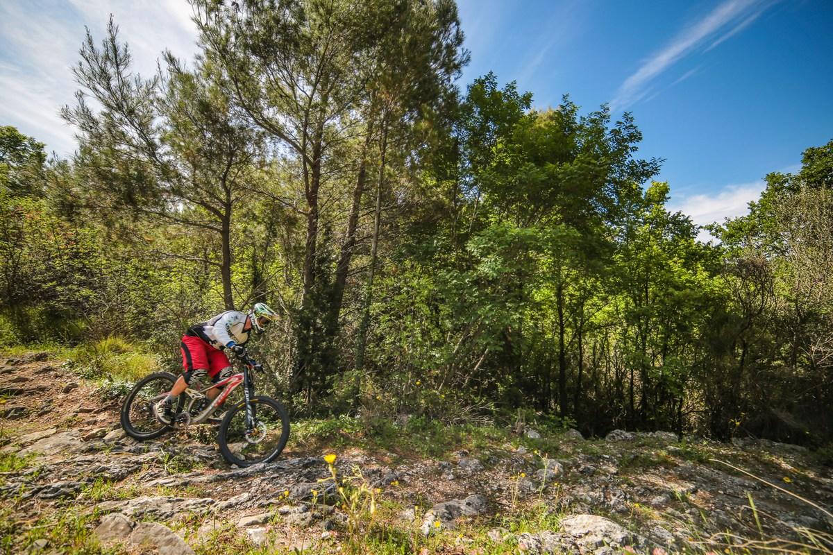 Drvenik, downhill Alberto Fortis