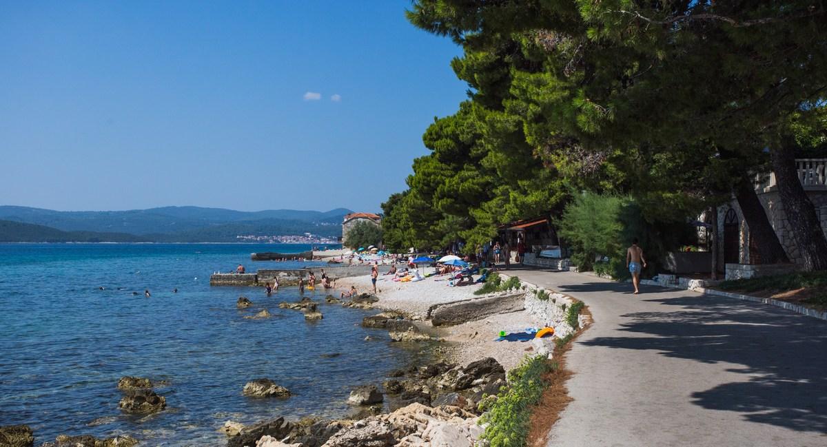 Plaže tik ob centru Orebića