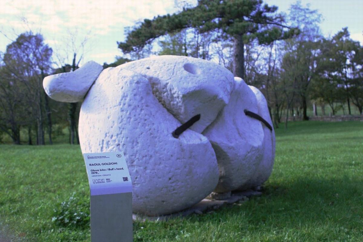 Park skulptur Dubrova