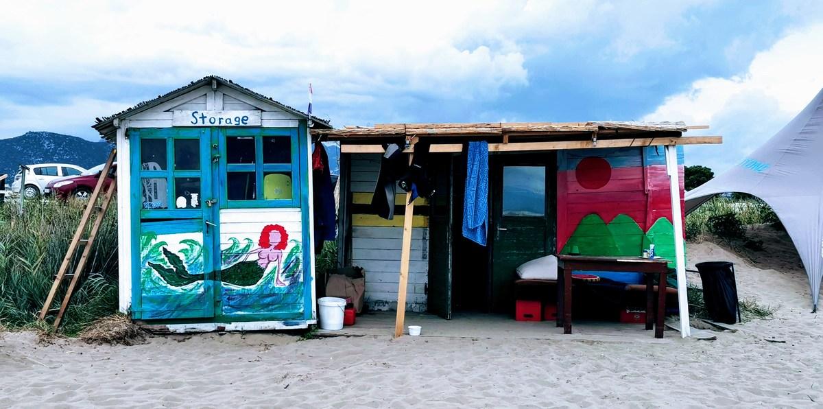 Skladišče na plaži