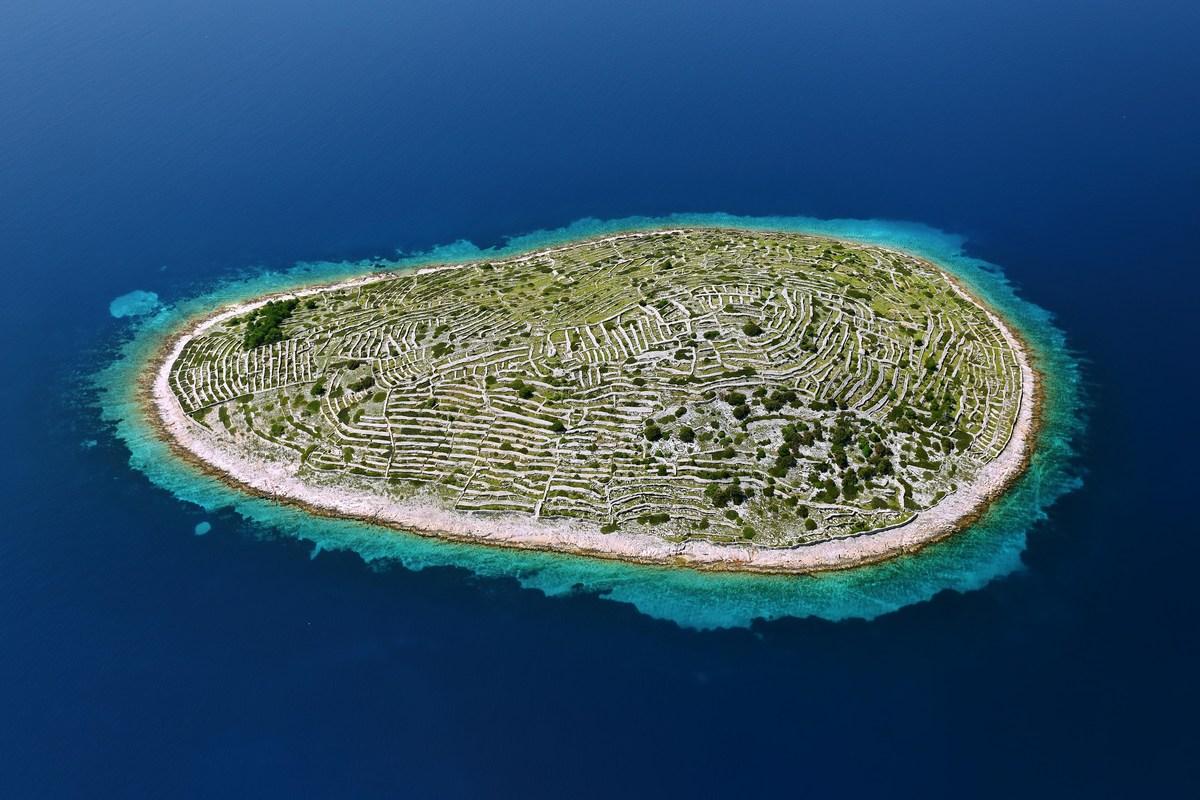 Bavljenac, otok prstnega odtisa