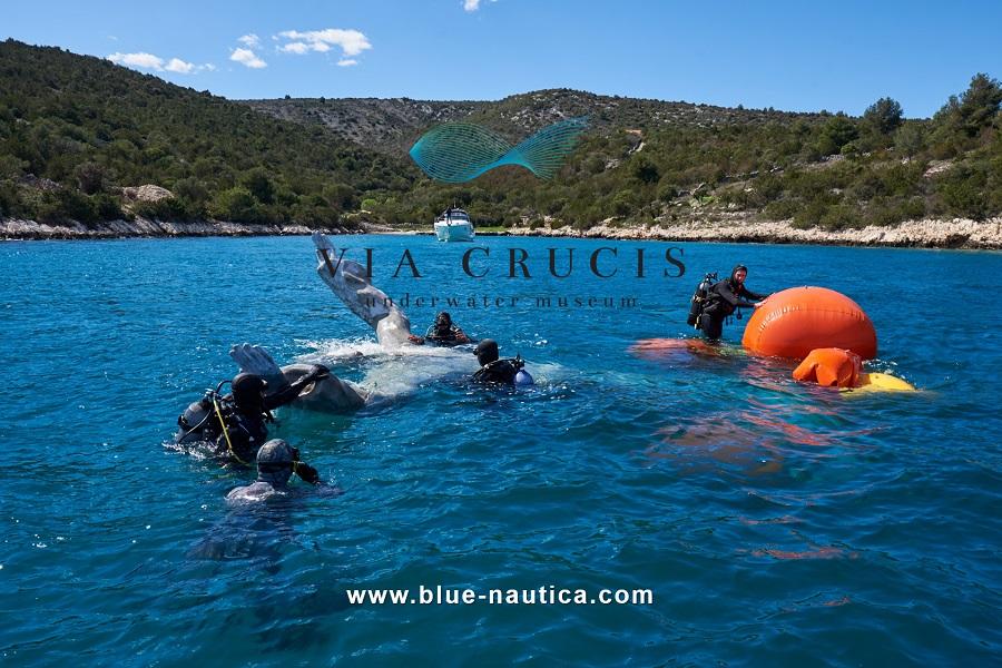 Blue Nautica med delom