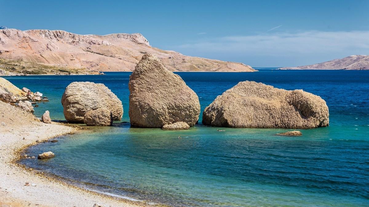 Fotogenična plaža Ručica