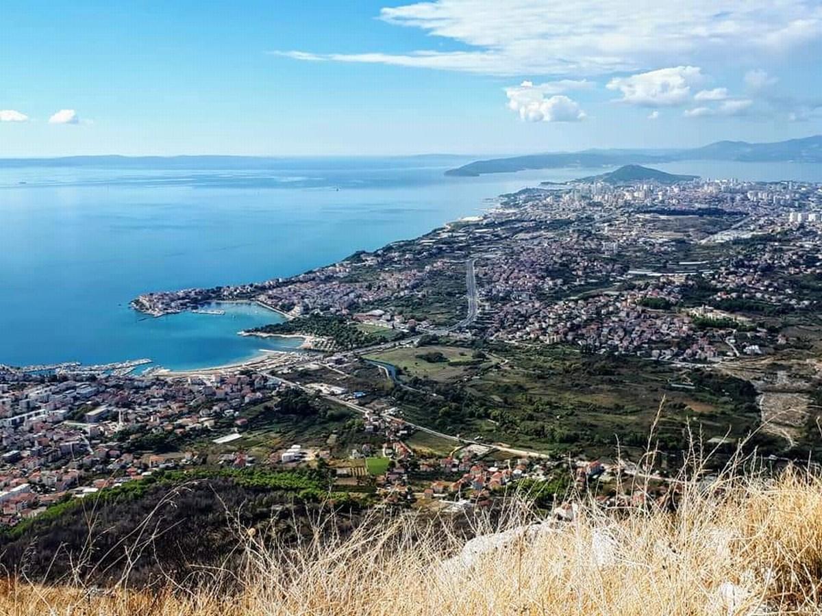 Pogled proti Splitu