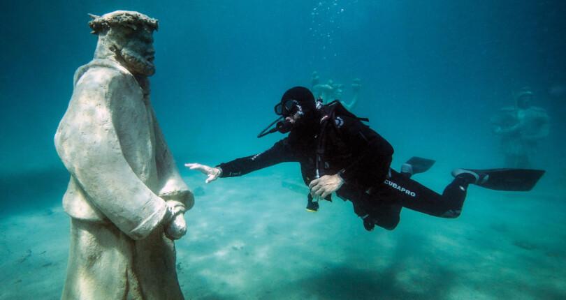 Via Crucis, podvodni muzej