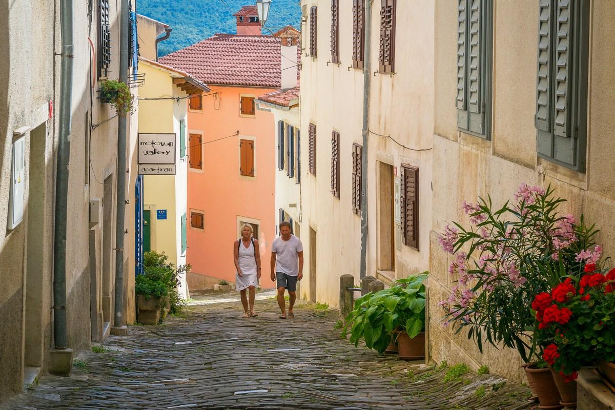 Šetnja ulicom Borgo