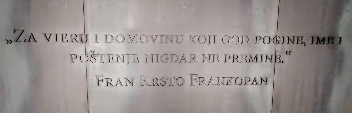 Besede Frankopanov