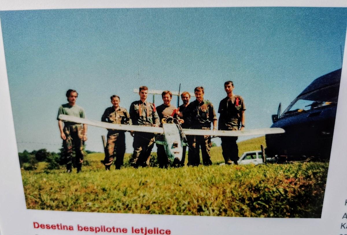 Enota, ki je upravljačla z brezpilotnim letalom