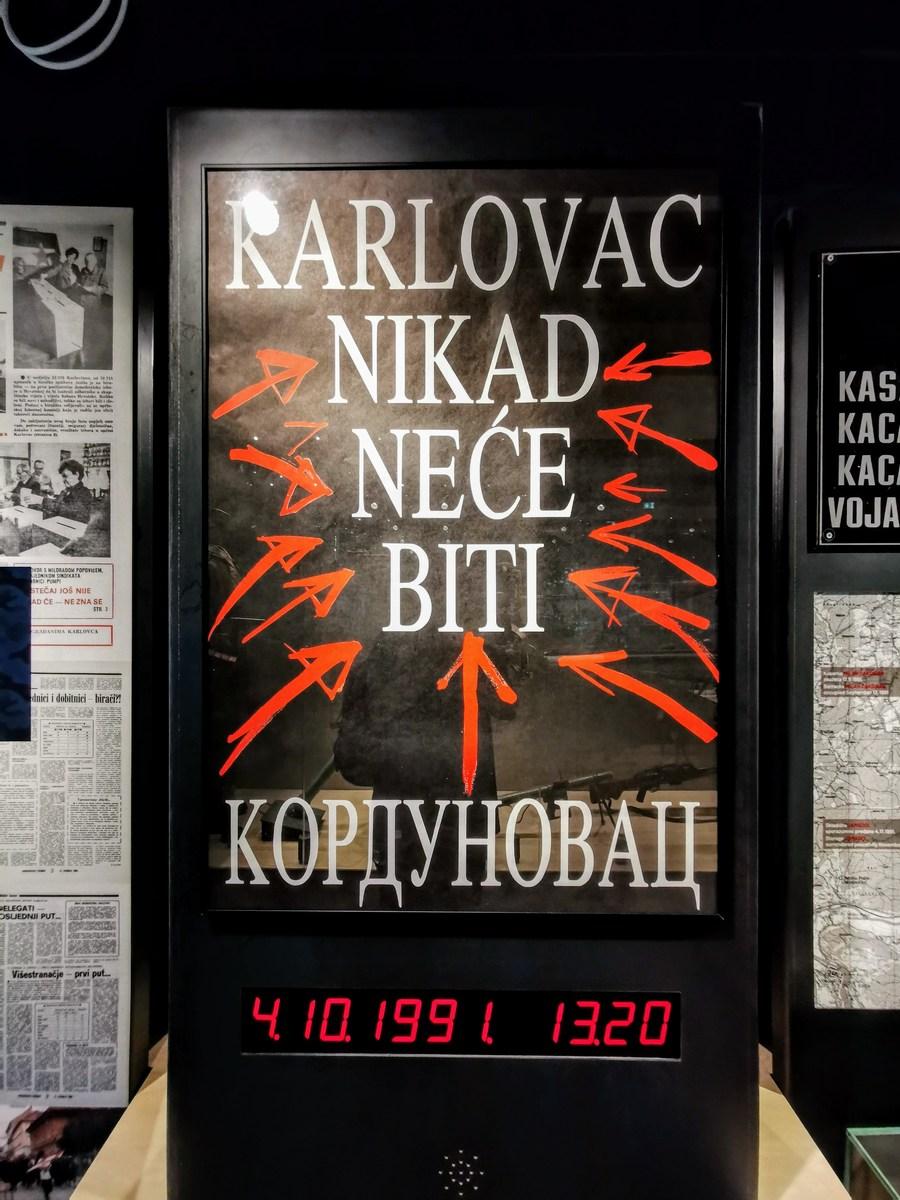Karlovac ne bo nikoli srbski