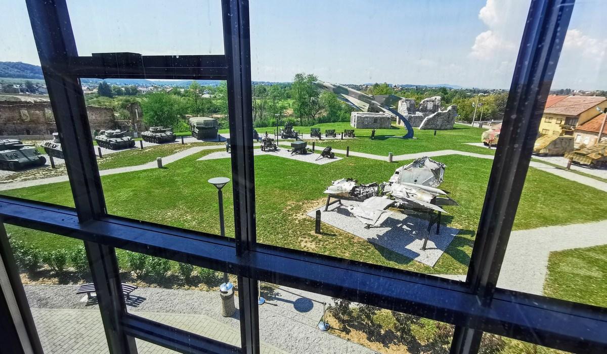 Pogled iz muzeja