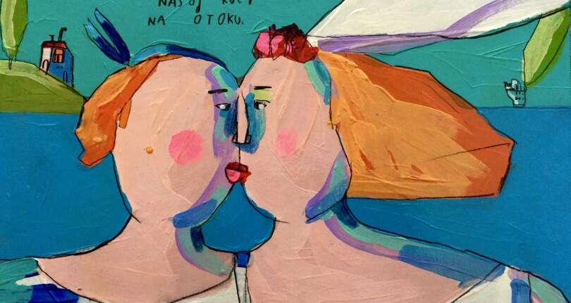 Ana Kolega: Kaj slikam in zakaj slikam?!