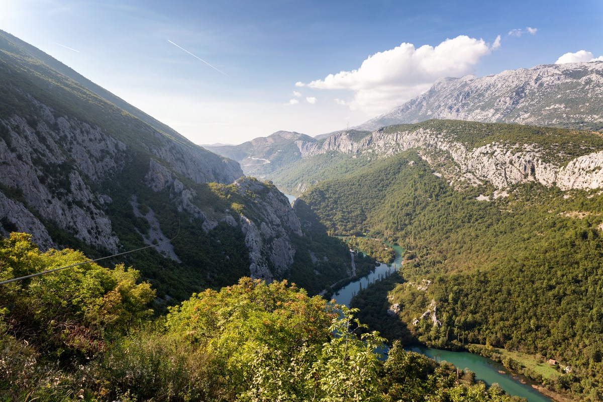 Kanjon rijeke Cetine, TZ Omiš