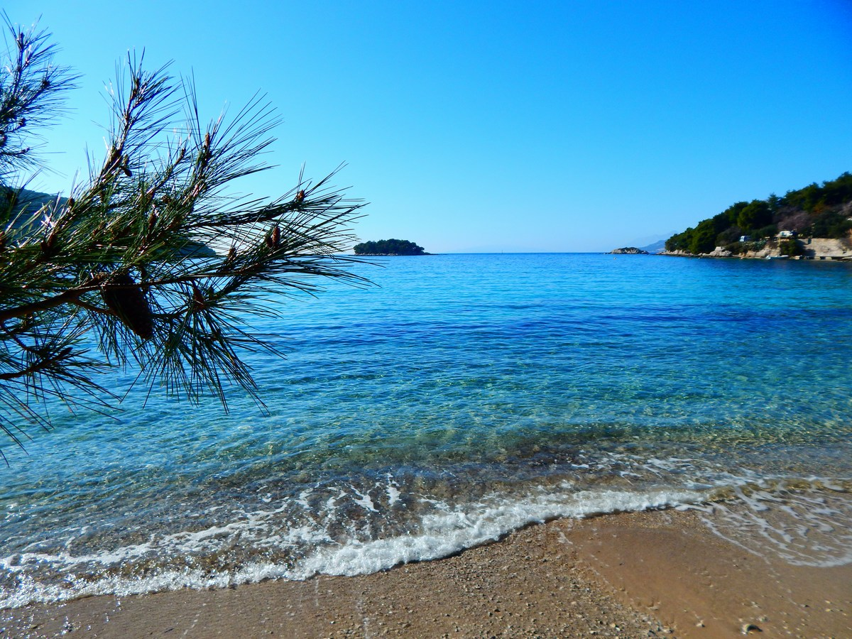 Košček plaže Žuljana