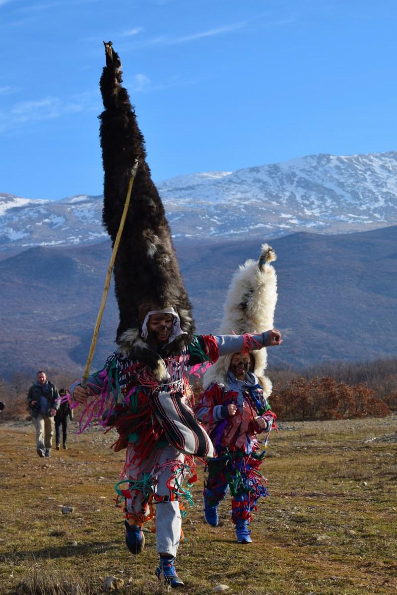 Meter in pol visoke ovčje kape, foto Monika Vrgoč