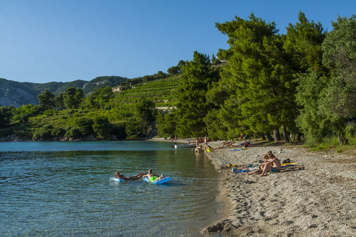 Plaža Vučine u Žuljani za one koji priželjkuju odmor u dodiru s prirodom