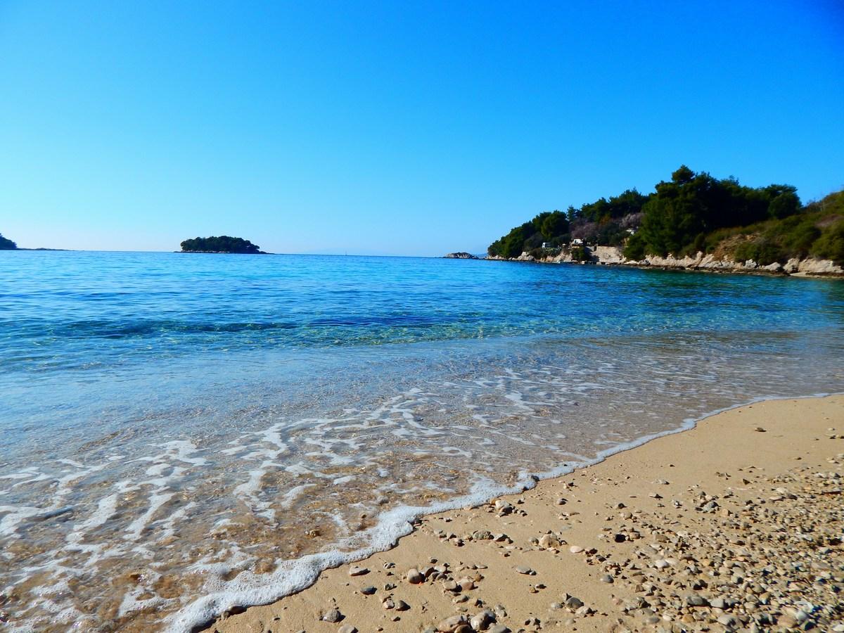 Plaža Vučine u Žuljani