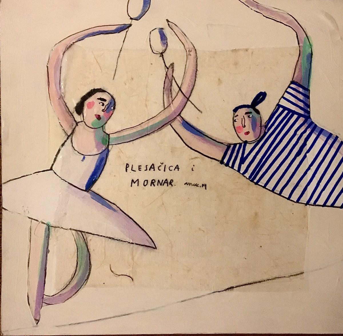 Plesačica i mornar