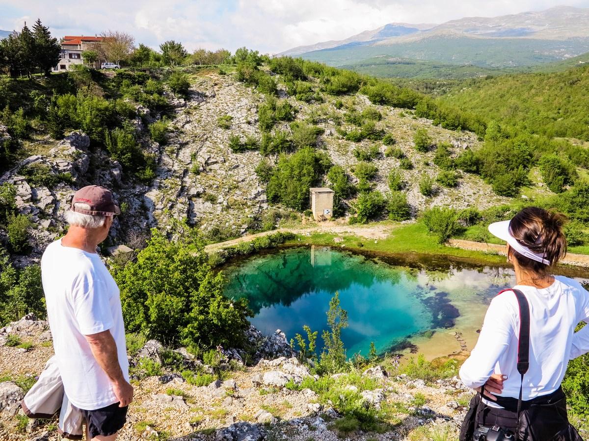 Pogled na izvir Cetine, foto TZ Vrlika