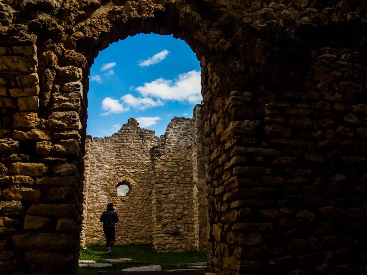 Ruševine cerkve sv. Spasa, foto TZ Vrlika