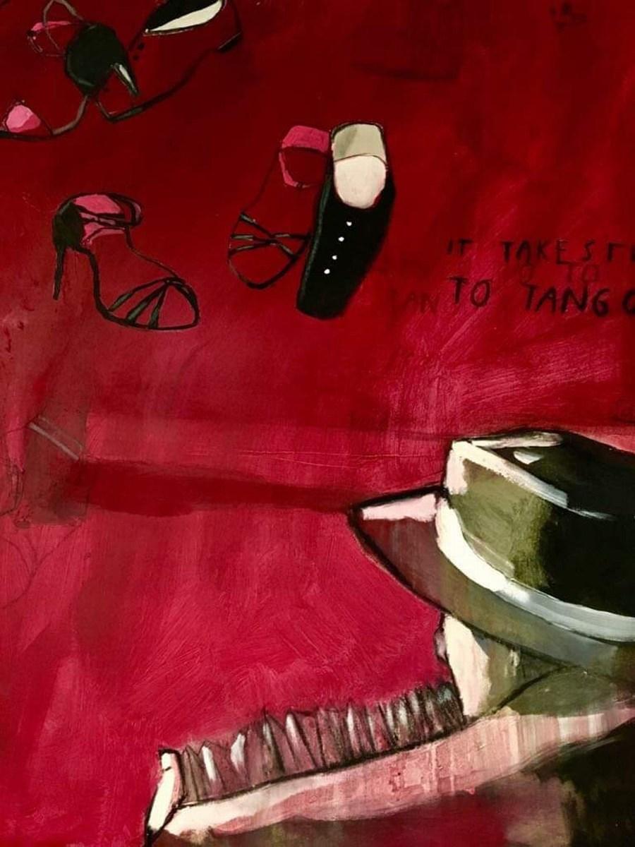 Tango, čevlji