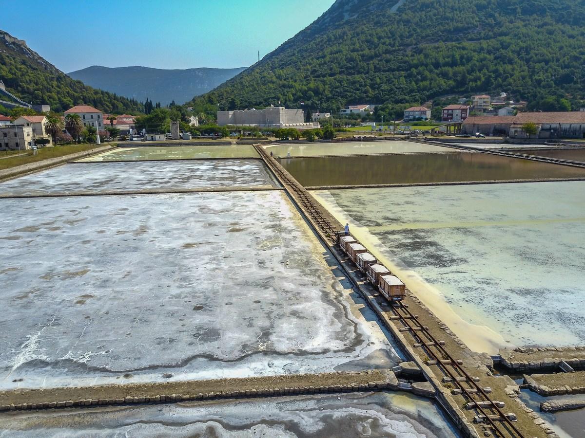 Tradicionalno vađenje soli u Stonskoj solani