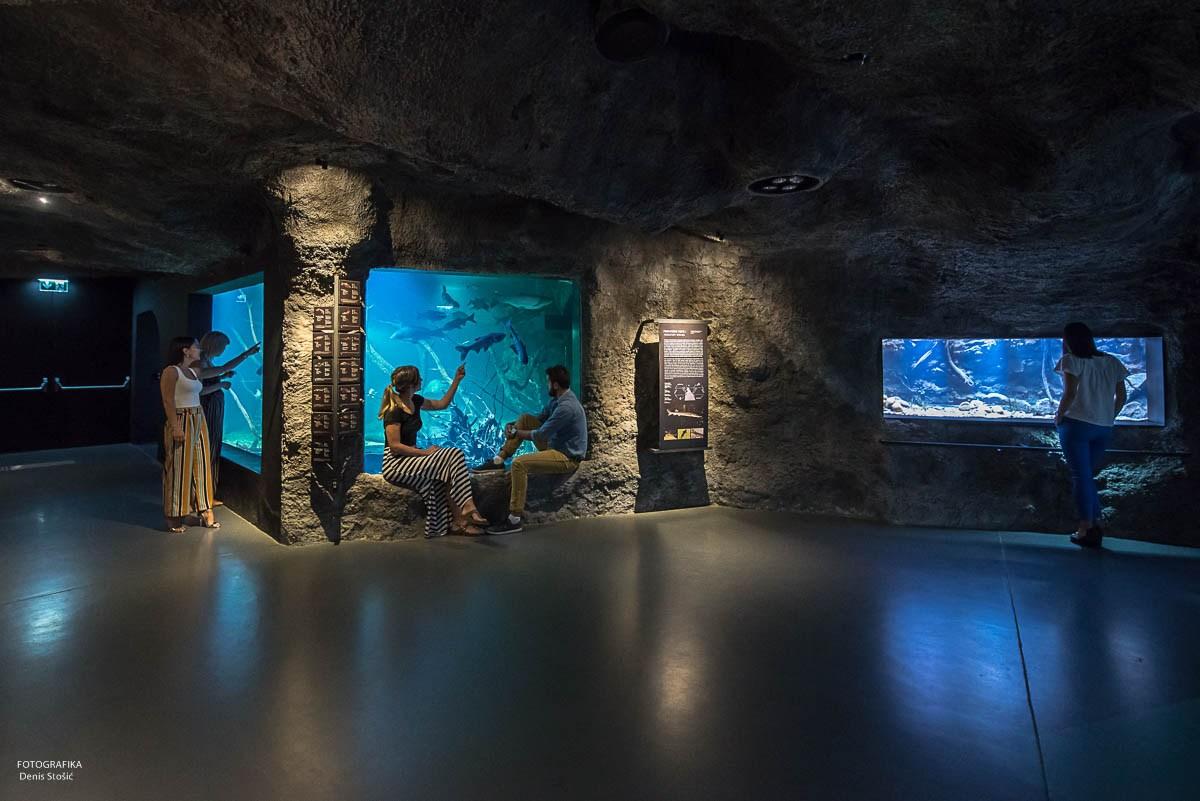 Lepota akvarija, podzemna jama, foto Denis Stošić