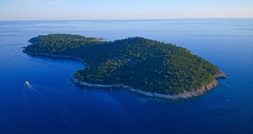 Otok Lokrum ima burno zgodovino