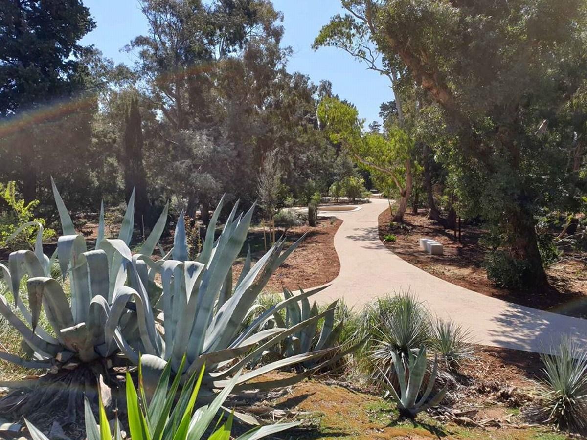 Prenovljen botanični vrt