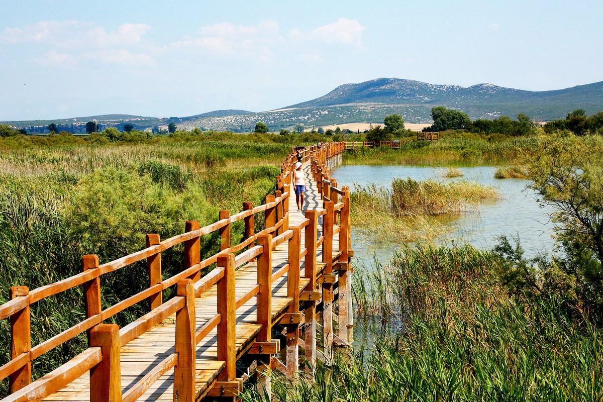 Steza nad Vranskim jezerom, foto Iva Rogić