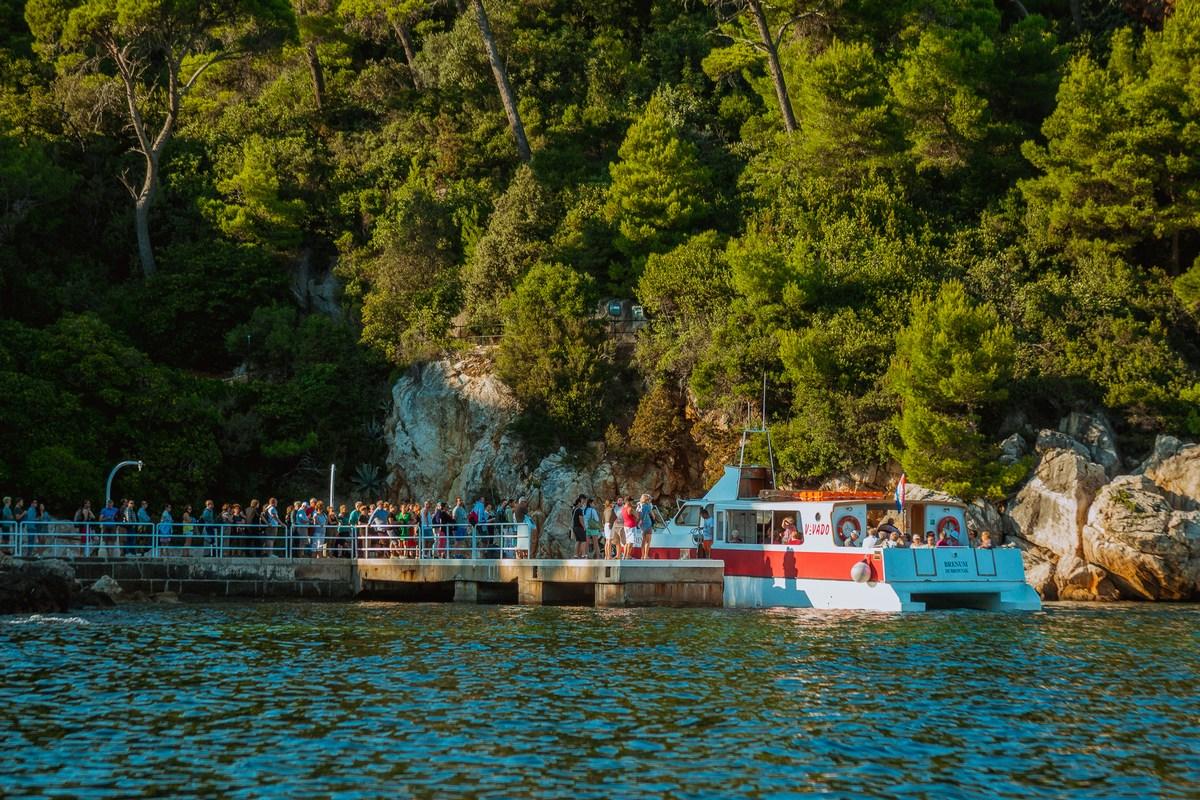 Turistična ladja, morski taksi