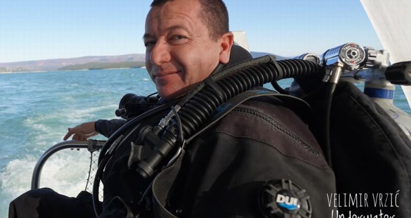 Velimir Vrzić – podvodni raziskovalec