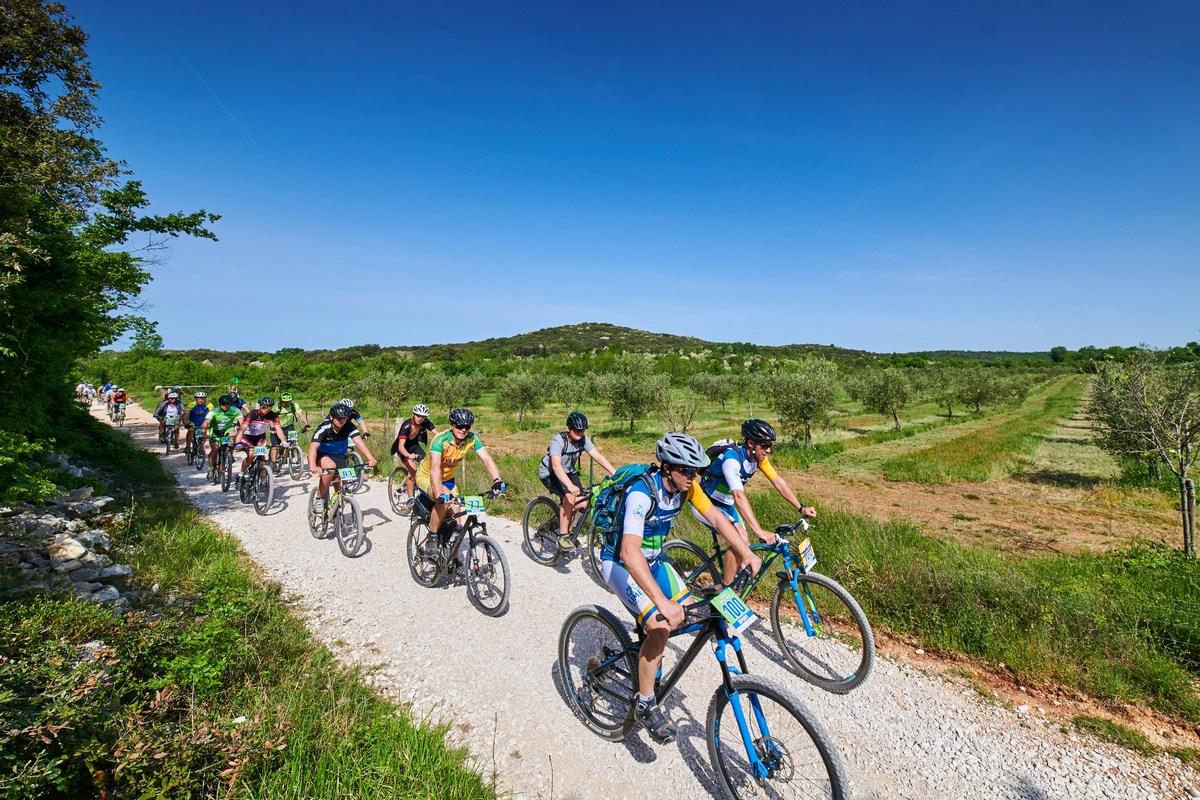 Številni tekmovalci, Limes Bike Tour