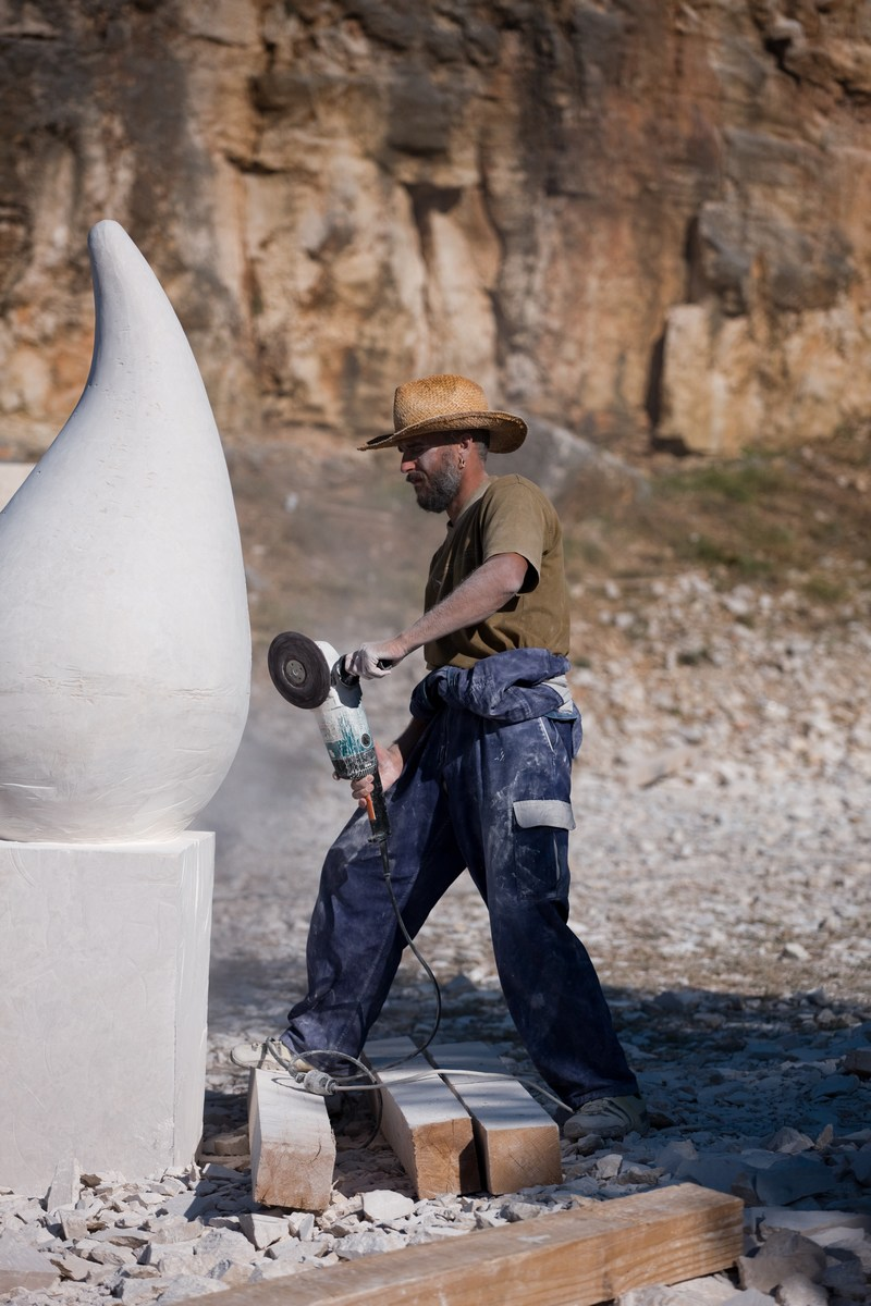 Montraker, kiparska delavnica