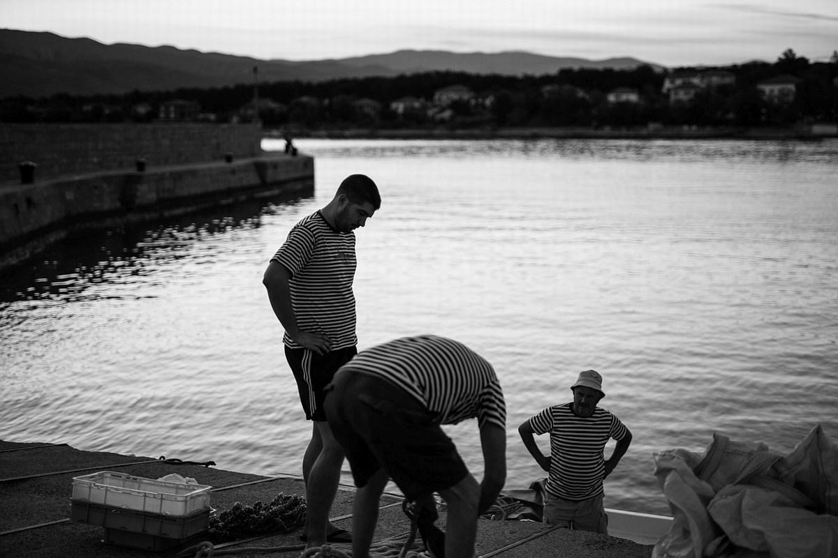 Ribiči, priprave