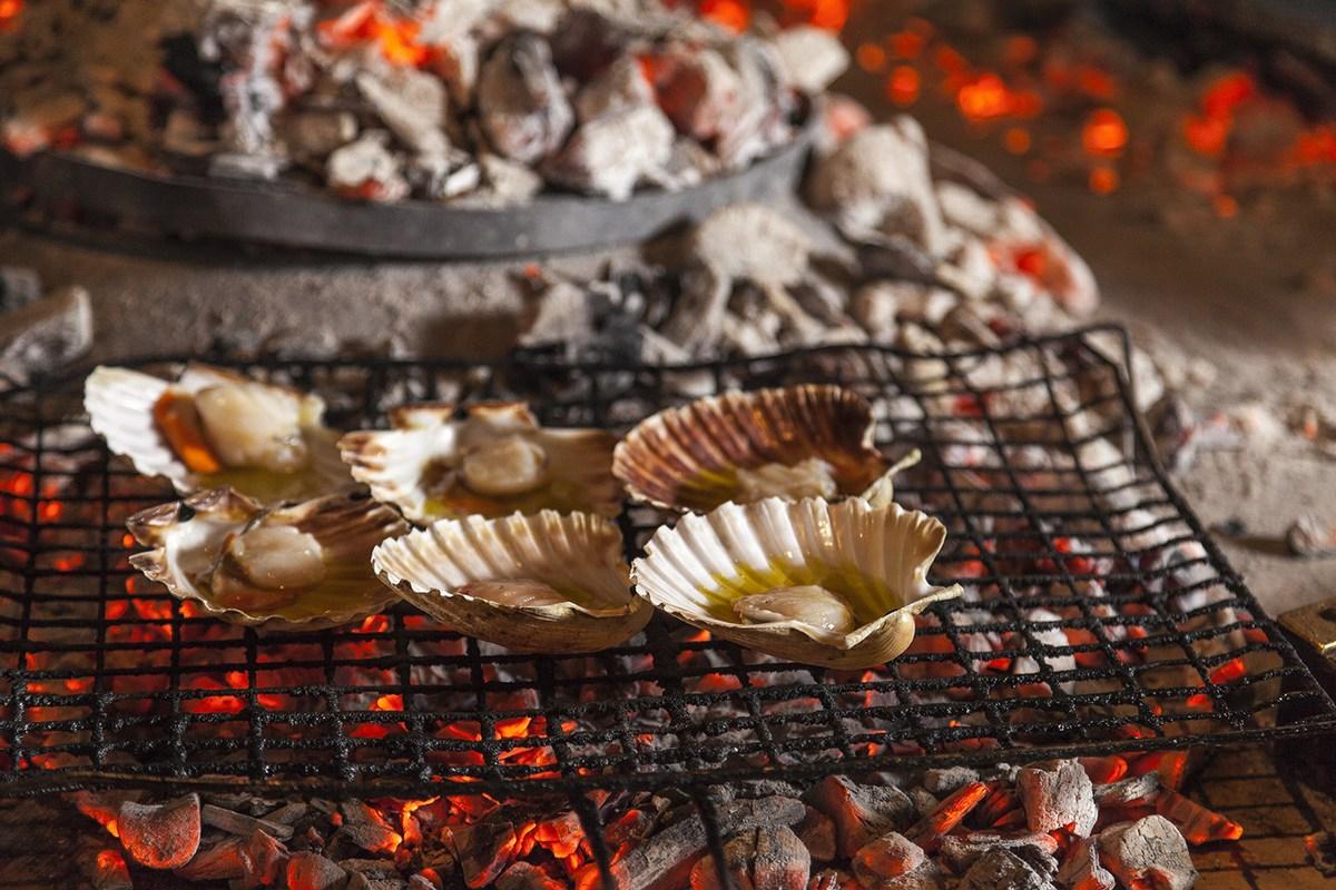 Morska hrana na žaru