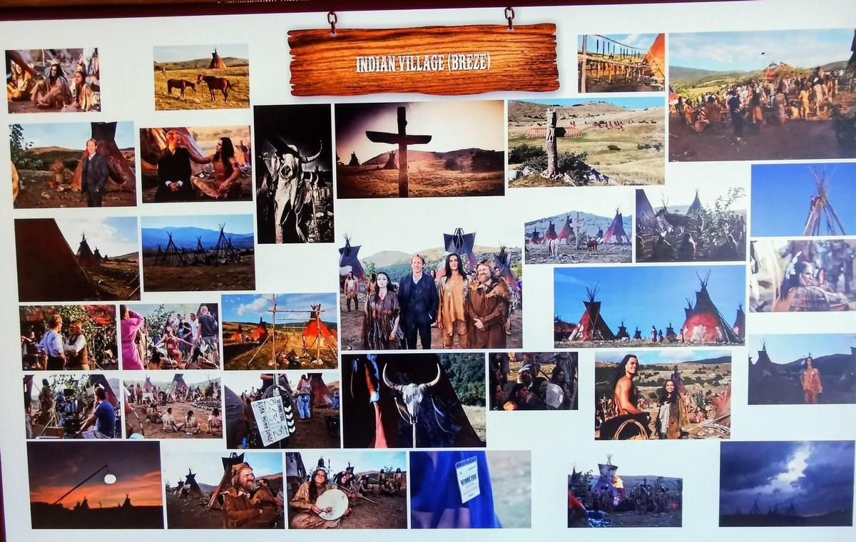 Snemanje, indijanski prizori