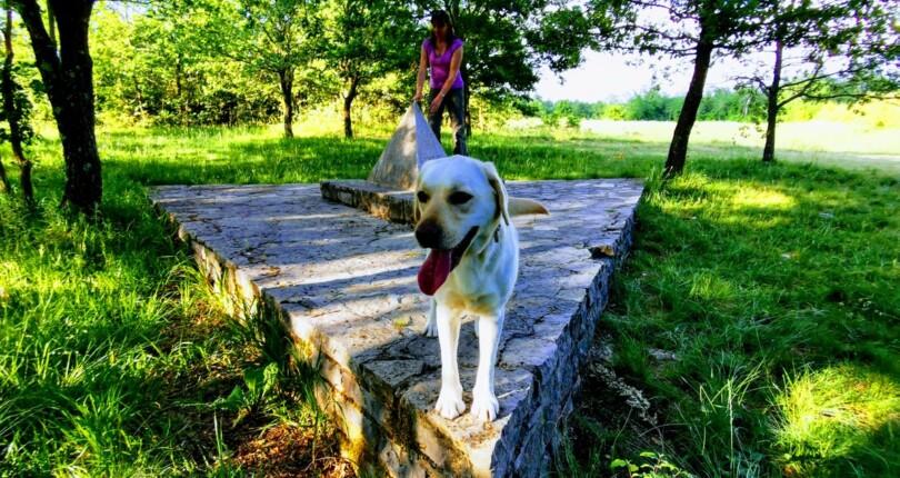 Geografsko središče Istre je blizu Pazina
