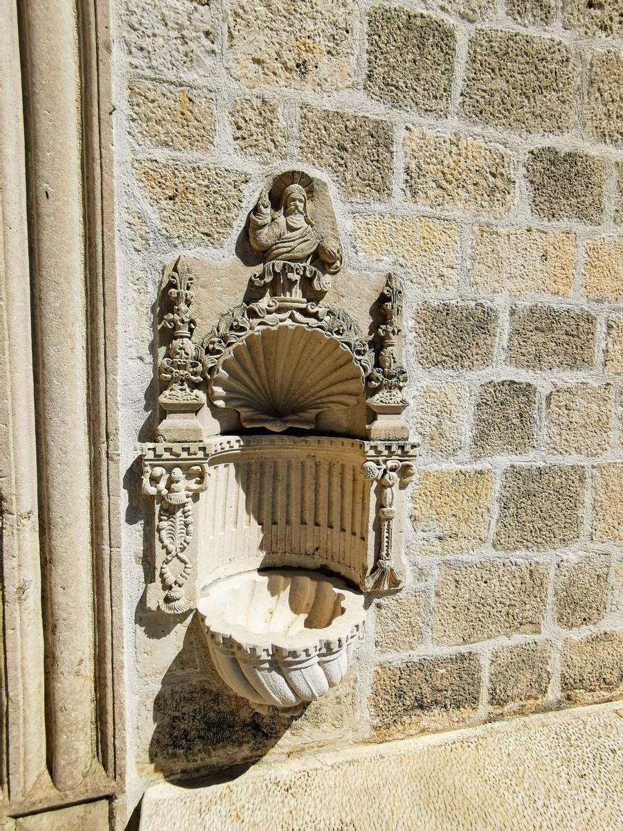 Detajl, samostan