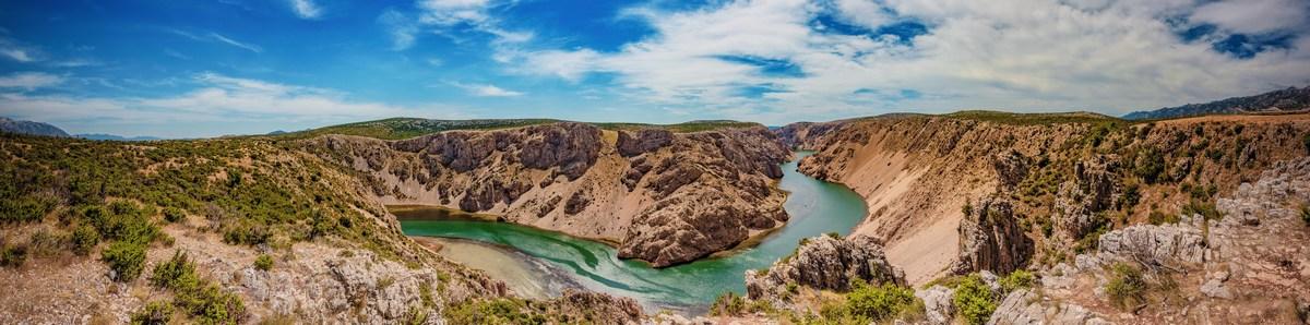 Foto Ivo Bioćina in HTZ, kanjon Zrmanje