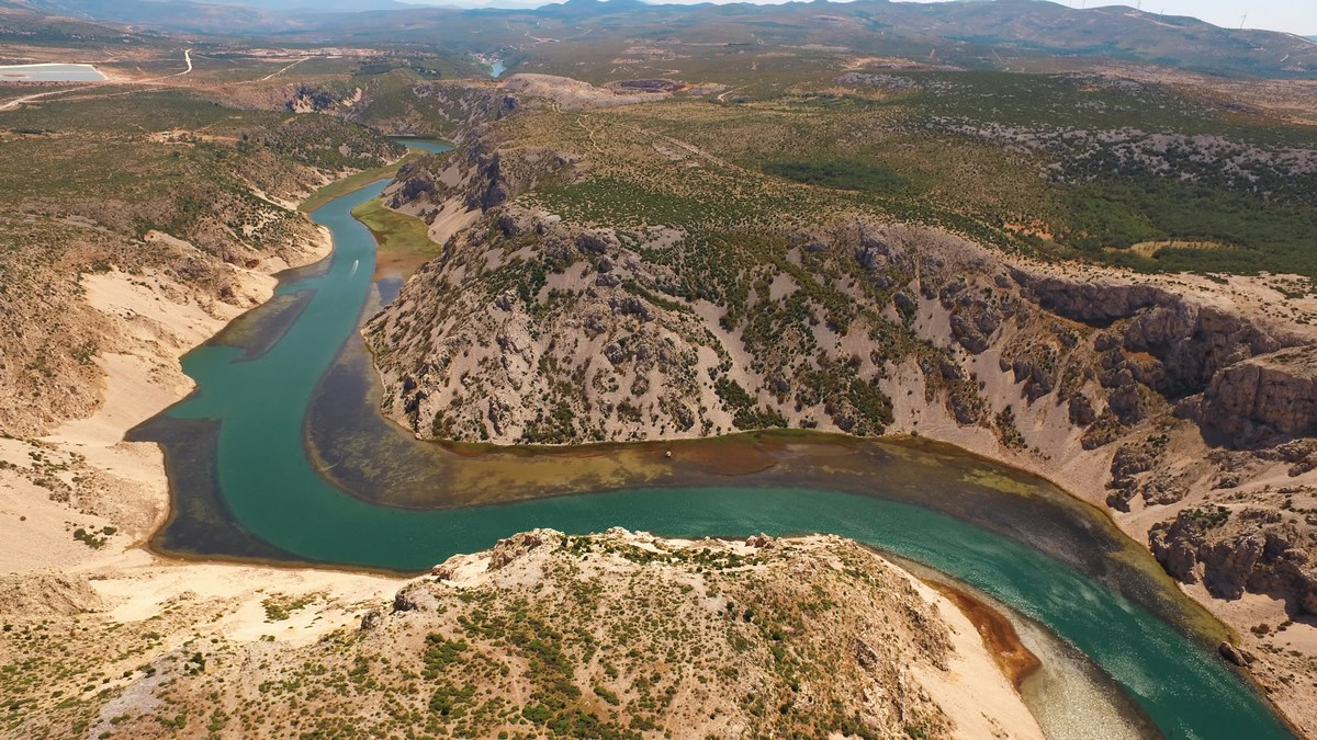 Kanjon Zrmanje, foto HTZ in Ivo Bioćina