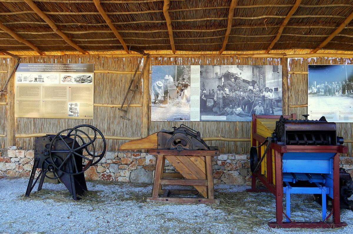 Mlatilnice, Traktor story