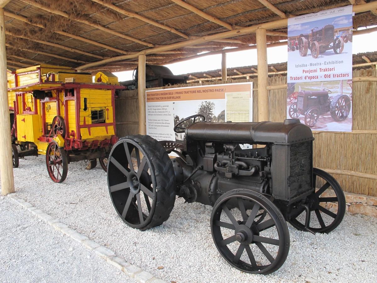 Oldtimer trakor