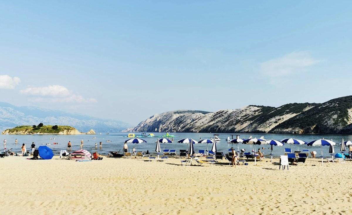 Rajska plaža, 1