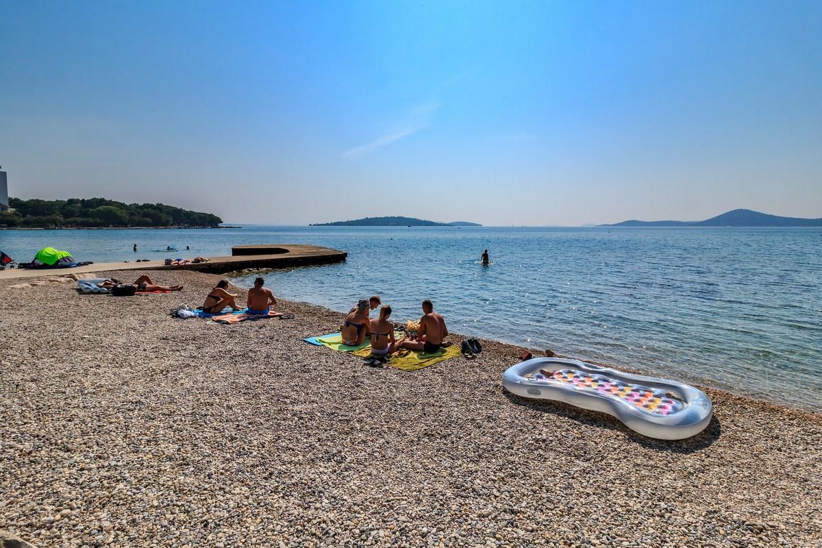 Brezskrbno na plaži, foto Andrija Carli