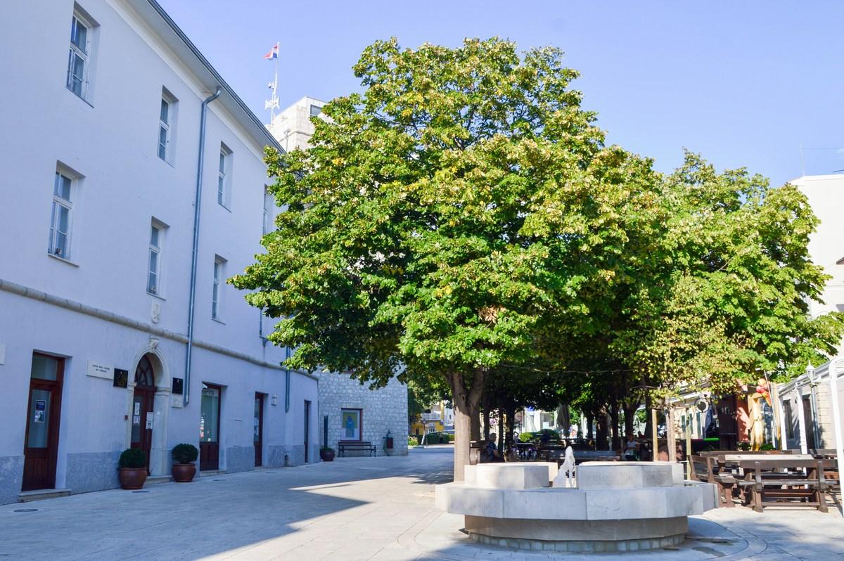 Frankopanski kaštel, mestna uprava